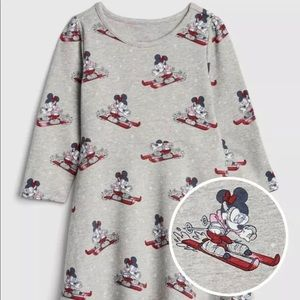 Baby Gap Disney Minnie Mouse Skiing Dress